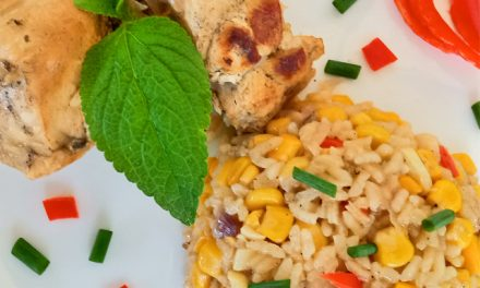 Brazilian Chicken and Rice Recipe (Galinhada)