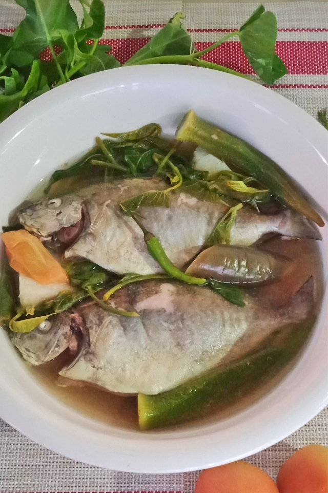 Sinigang na Danggit, Mom Food Blog, Seafood Recipe, Danggit Recipe, Rabbitfish Recipe