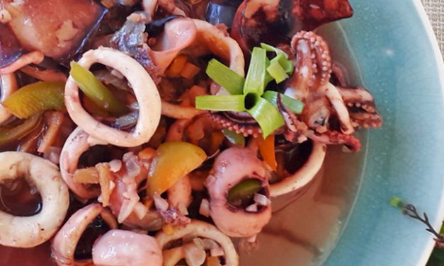 Sauteed Squid