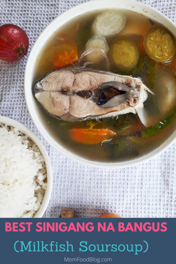 Sinigang na Bangus, Sinigang, Mom Food Blog