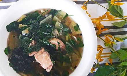 Chicken Tinola Recipe (Tinolang Manok with Papaya and Chili leaves)