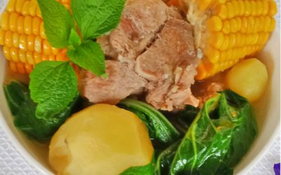 Pork Tinola with Sweet Corn and Potatoes