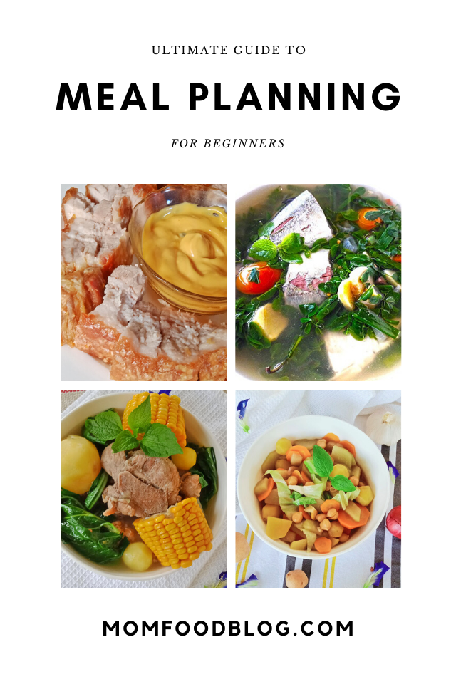 Ultimate Guide to Meal Planning for Beginners, Mom Food Blog, Meal Planning