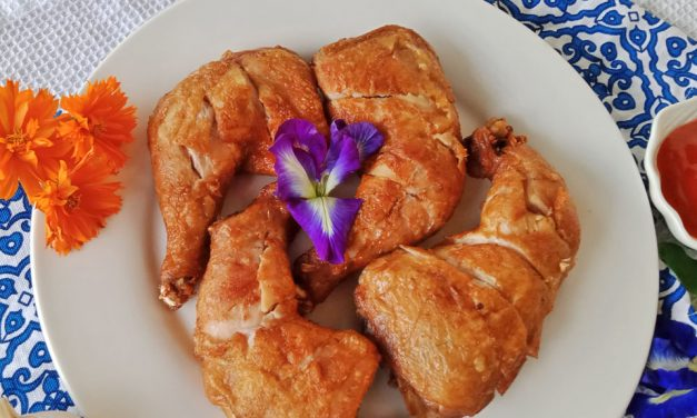 Soy Sauce Fried Chicken (Chinese Style)