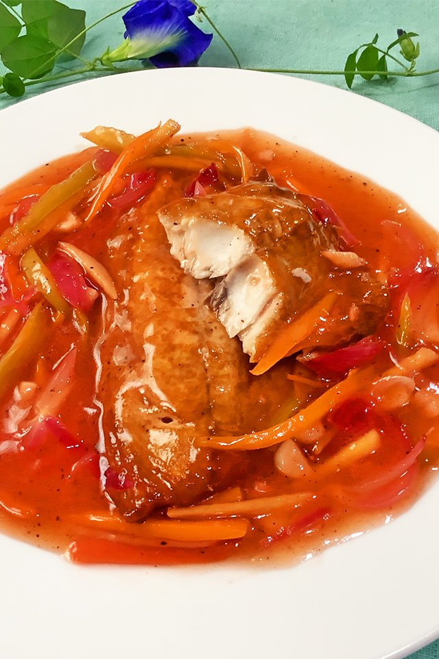 Escabeche, Sweet and Sour Fish, Mom Food Blog