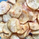 Air Fryer Sweet Potato Chips, Mom Food Blog, Sweet Potato Chips in Air Fryer